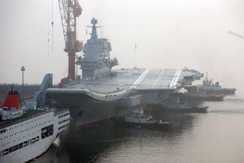 China, aircraft carrier, Shandong, South China Sea