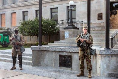 national guard cadets kenosha courthouse
