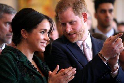 Meghan Markle and Prince Harry, Canada House