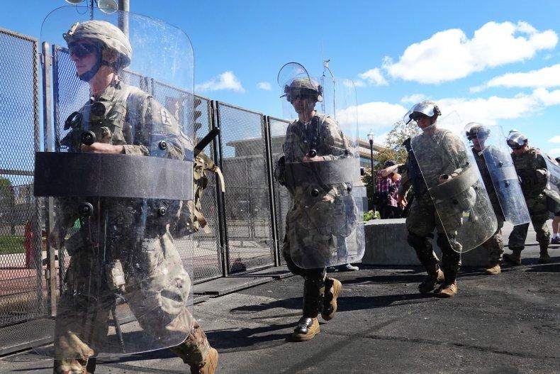 National Guard in Kenosha