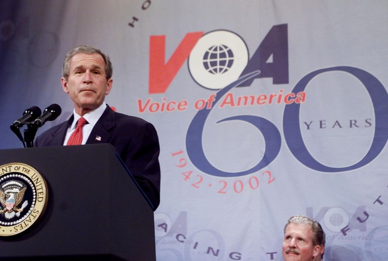 President George W. Bush speaks at 60th