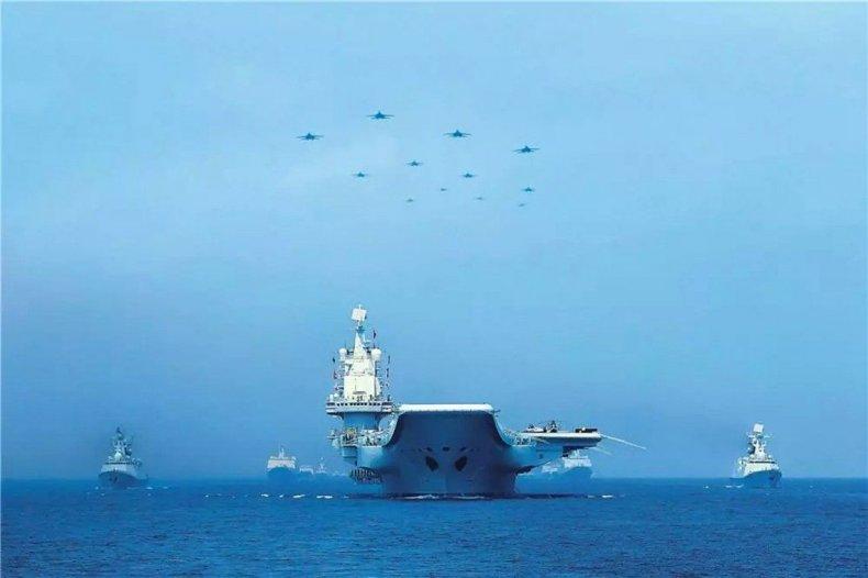 china, aircraft, carrier, navy, parade