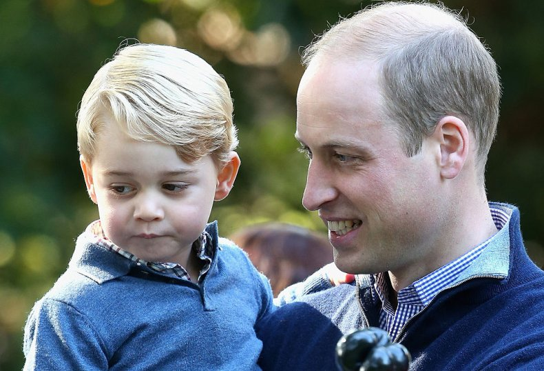 Prince George and Prince William in Canada