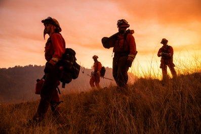 Inmate crew Kincade Fire California 2019