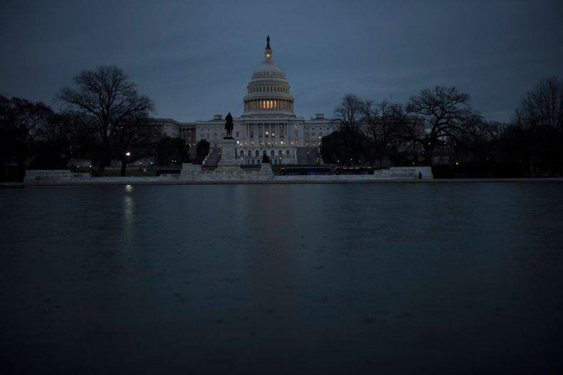 The U.S. Congress building