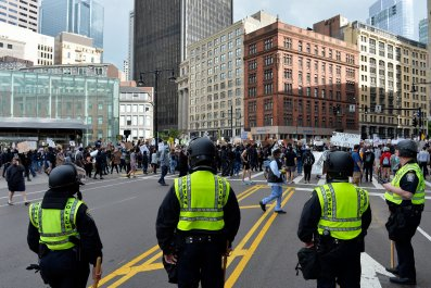 Boston police officers
