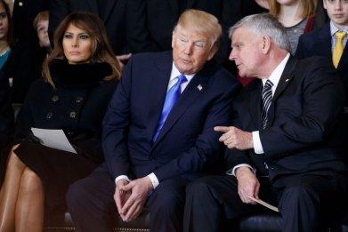 Donald Trump and Franklin Graham