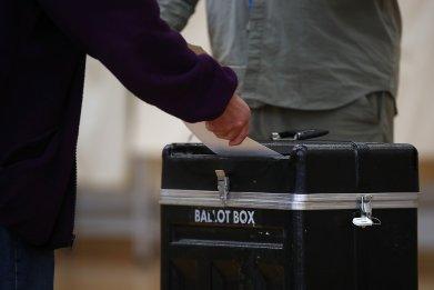 Montana ballot box