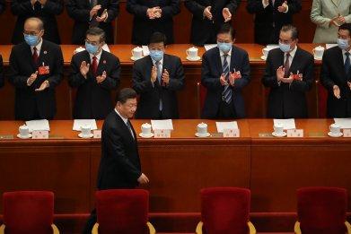 Xi Jinping in Beijing in May