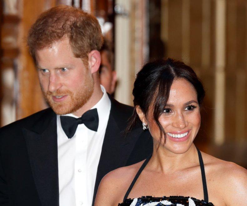 Prince Harry and Meghan Markle, Royal Variety