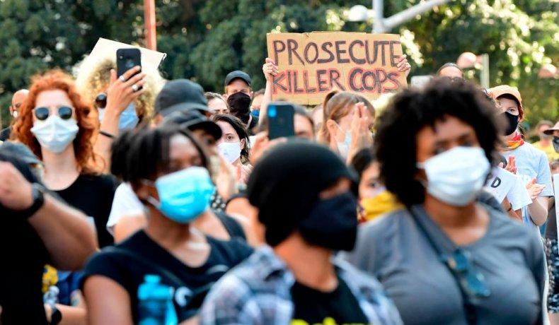BLM protest Los Angeles