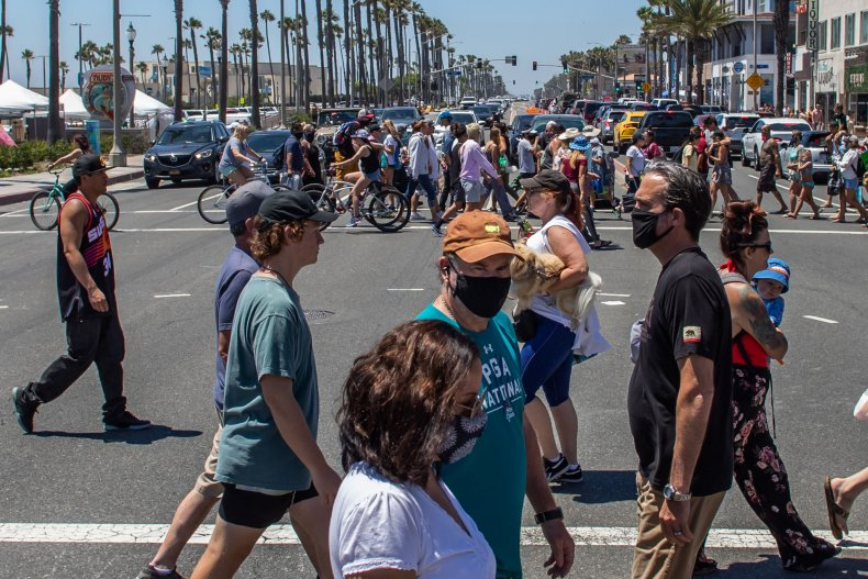Huntington Beach, California, July 2020