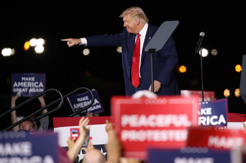 Trump Rally NH
