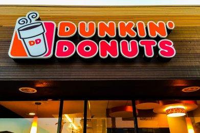 Dunkin' Donuts, Santa Monica, California, 2015