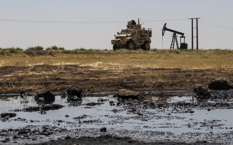 us, military, syria, oil, fields