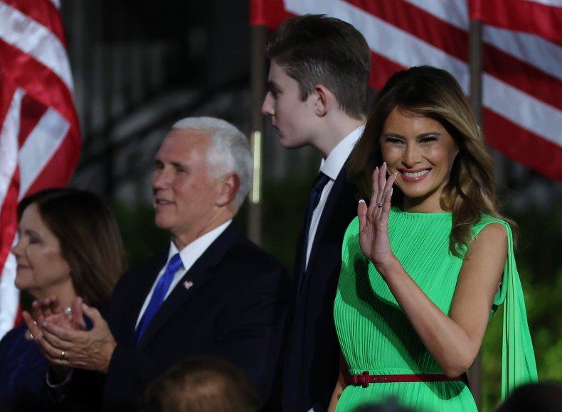 Melania Trump at the 2020 RNC