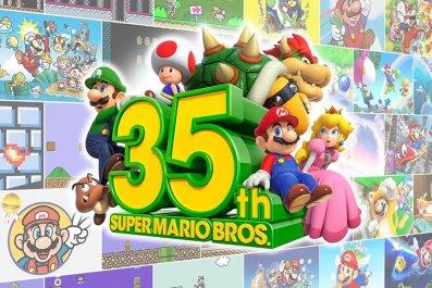 35th Anniversary Super Mario Bros 2020