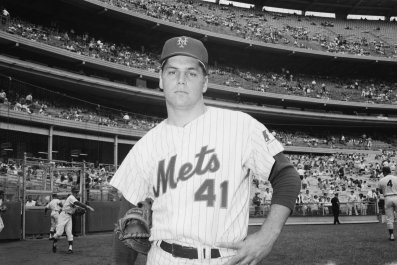Hall of Fame Pitcher Tom Seaver