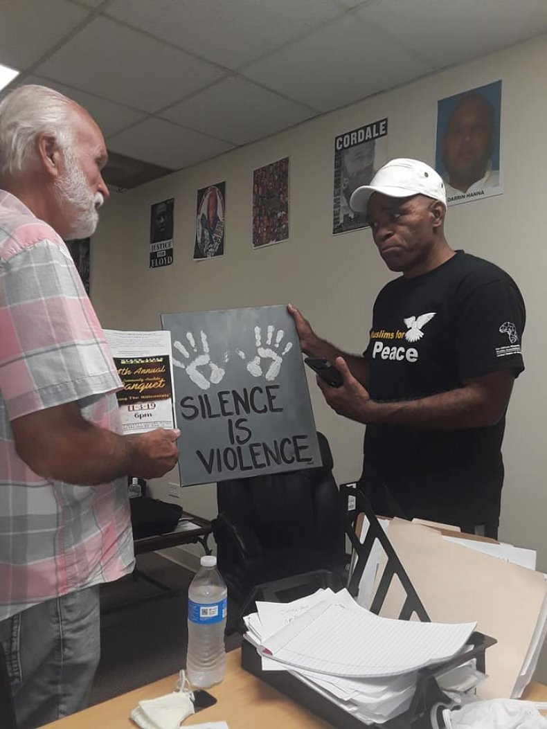 Holding Silence is Violence Sign