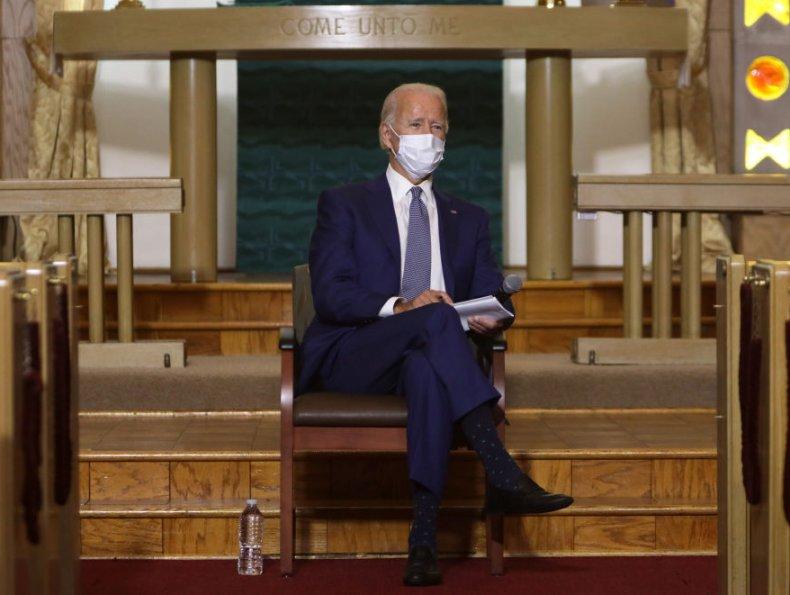 Joe Biden in Kenosha, Wisconsin