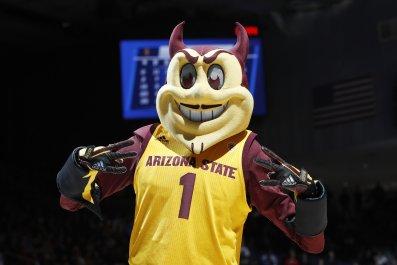 Arizona State Sun Devils mascot 2019