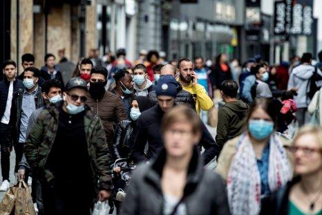 Brussels, Belgium, coronavirus, May 2020