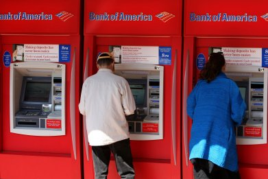 Bank of America ATM