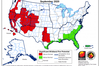 September Wildfire Forecast
