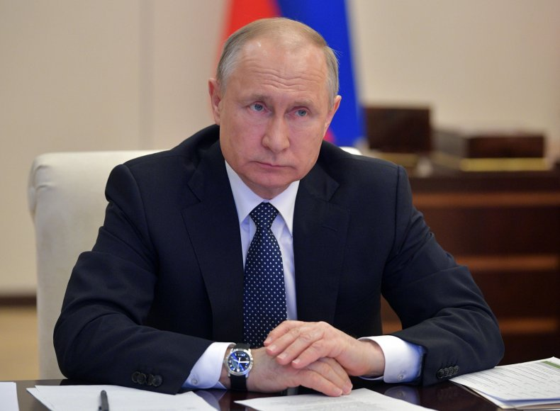 Vladimir Putin Meets About Covid-19 Spread