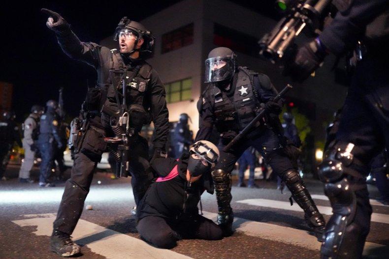 Portland Police Make Arrest