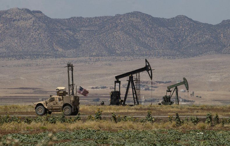 syria, oil, fields, us, military