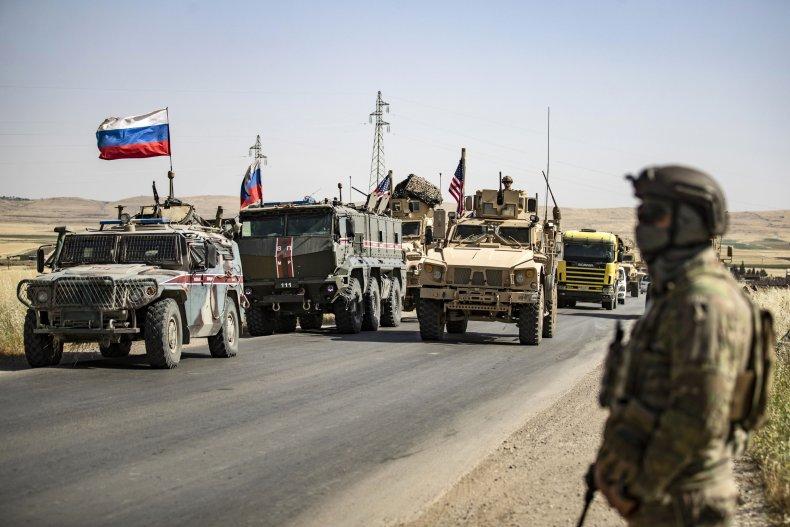 us, russia, military, vehicles, syria, turkey