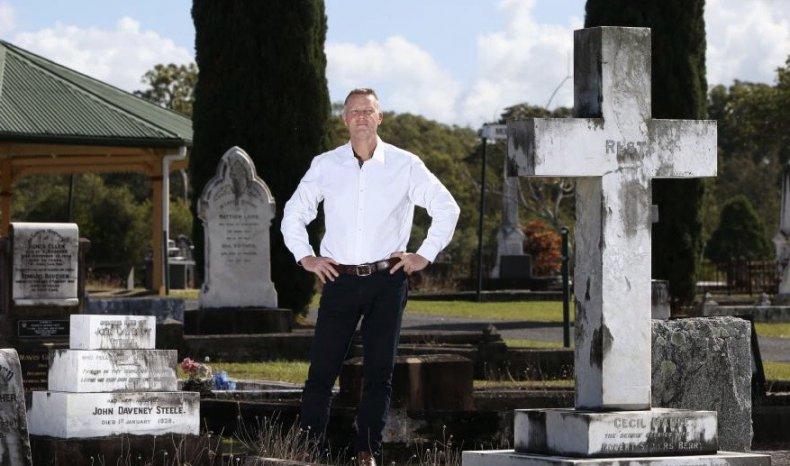 funerals, confessions, private investigator