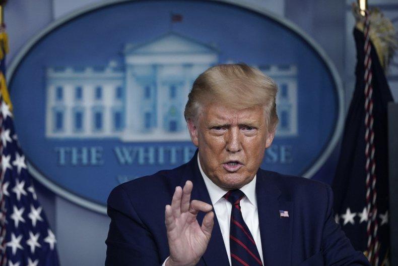 Donald Trump White House press September 2020