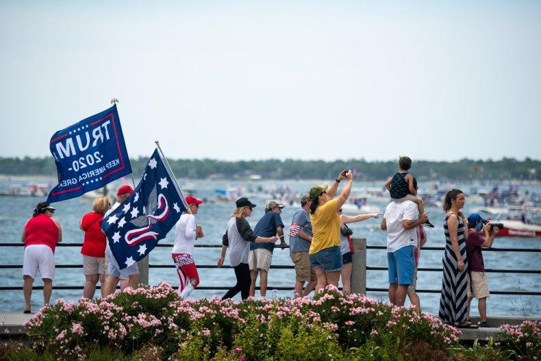 Trump boat parade South Carolina May 2020