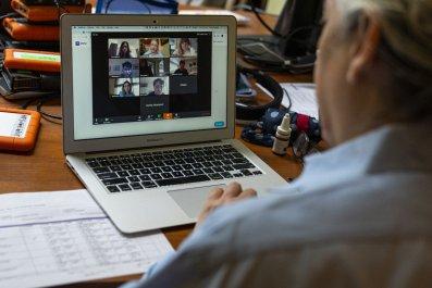 Online teaching New York University April 2020