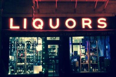 new york city liquor store March 2015