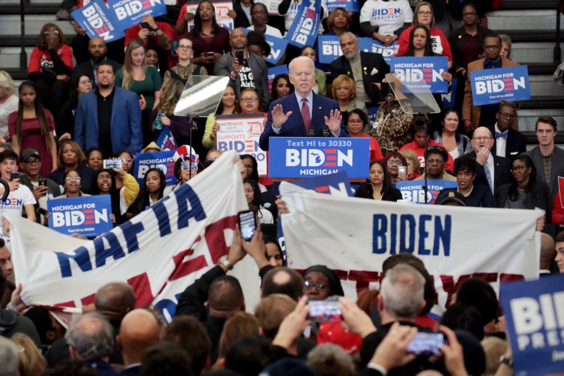 joe biden supporters racial unrest