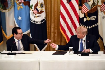 treasury secretary mnuchin debt trump
