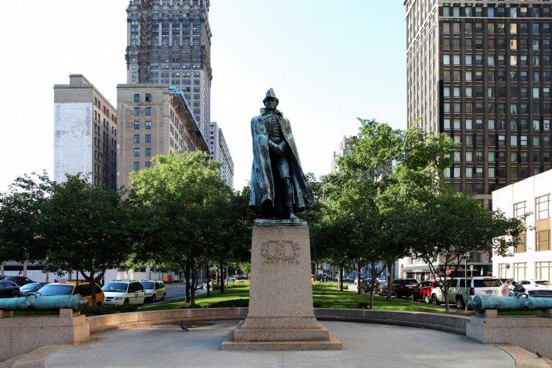 Alexander Macomb statue