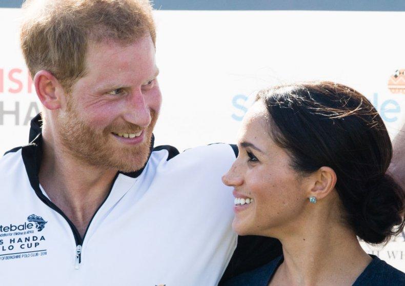 Meghan Markle and Prince Harry, Sentebale Polo