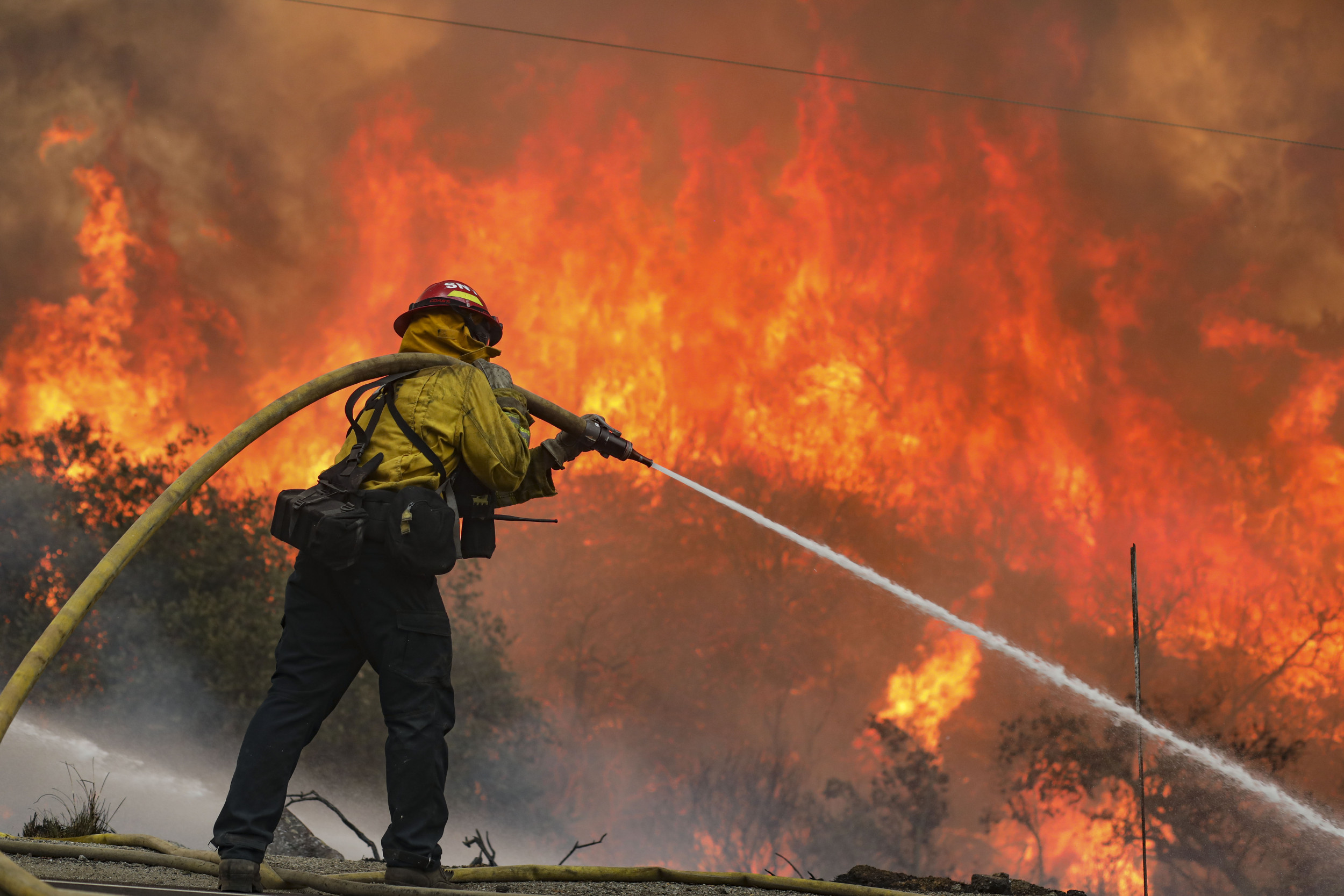 California fire map, updates for Creek Fire, Valley Fire as state of emergency declared
