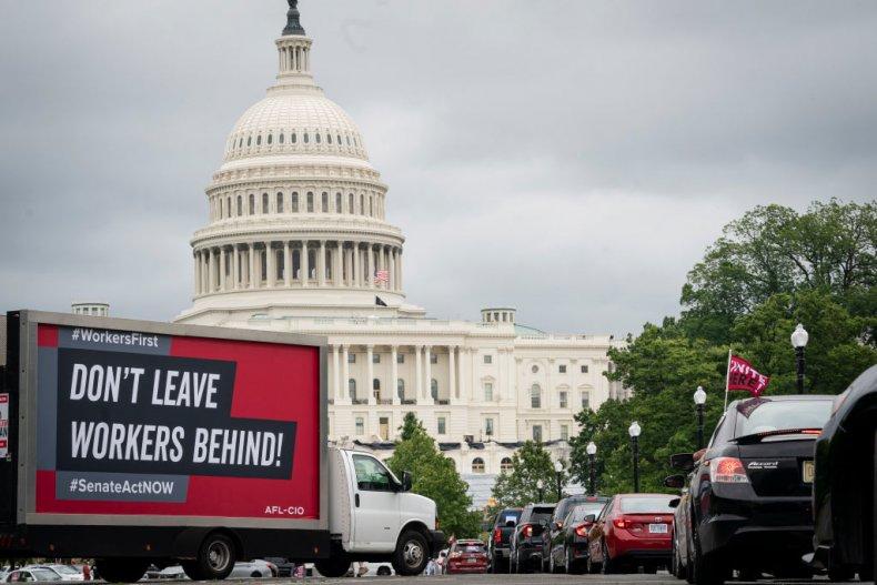 AFL-CIO Protest in Washington, D.C.