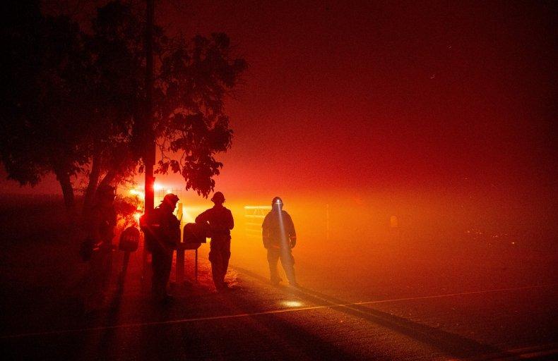 LNU Lightning fire California Vacaville August 2020