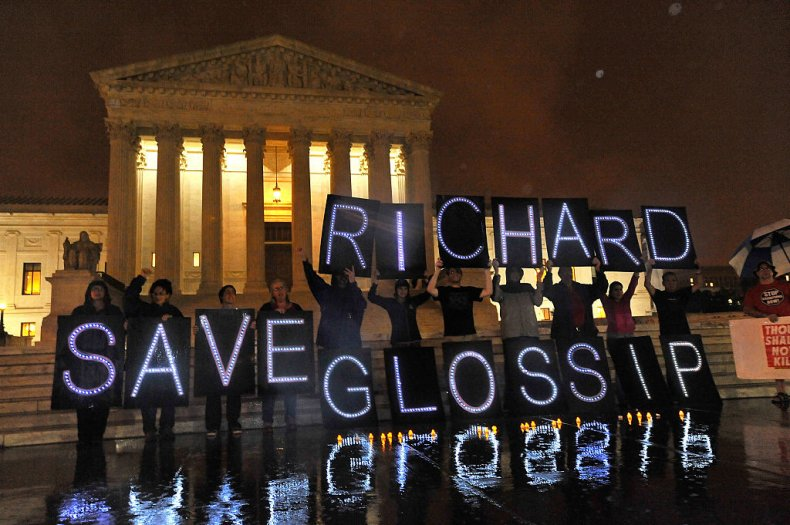 Save Richard Glossip Demonstrators