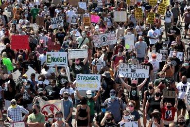 Rally in Wake of Jacob Blake's Shooting