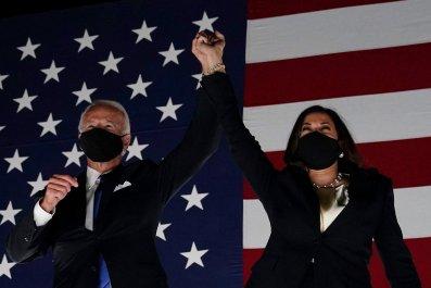 Democratic nominees Joe Biden and Kamala Harris
