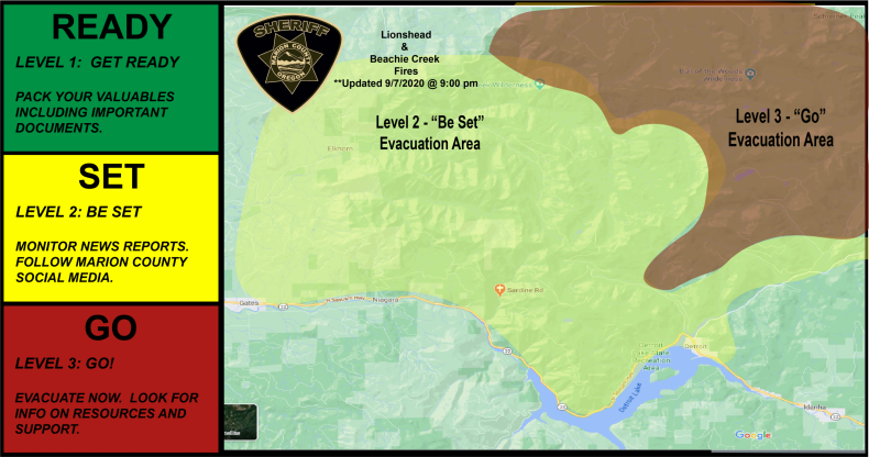 Fire Evacuation Marion County