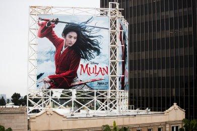 Mulan Billboard Disney