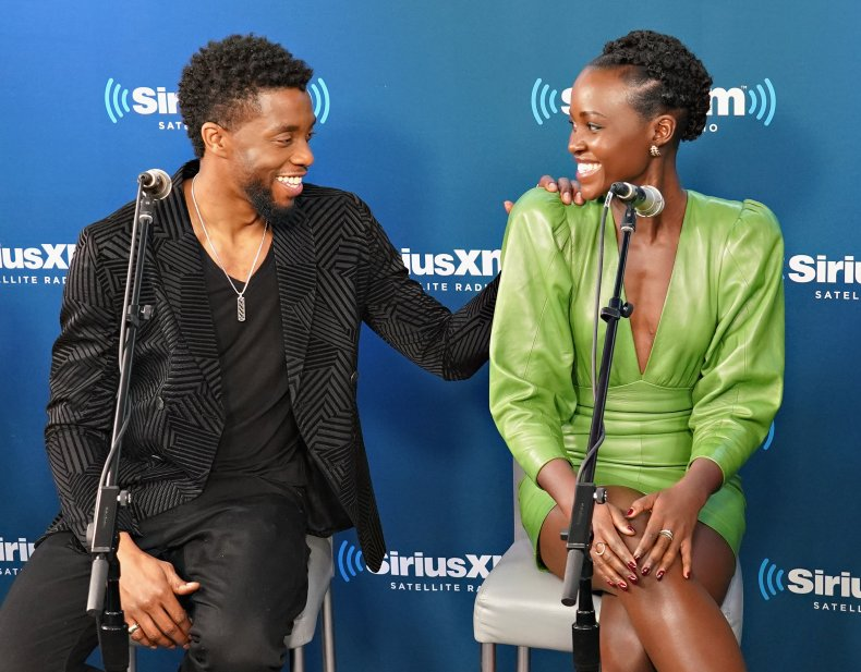 Lupita Nyong'o's Sorrowful Words for Chadwick Boseman